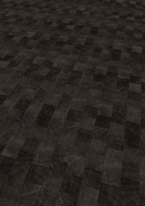 PVC vloeren - Expona-Domestic-Classic-5843-Dark-Endgrain-Woodblock-1