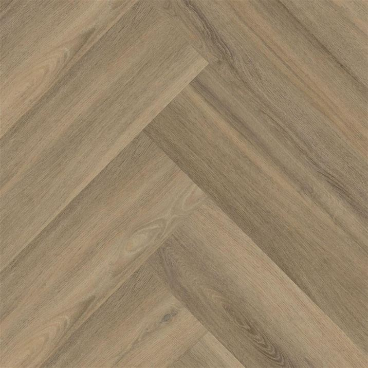 PVC vloeren - Floorlife-Yup-Herringbone-Dryback-F9096350219-Light-Brown-1